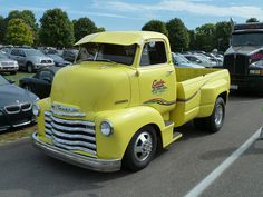 Late 40's? Chevrolet Cab Over Engine (COE) Pickup Truck | Flickr - Photo Sharing!