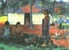 Titre de l'image : Paul Gauguin - Pourquoi es-tu mauvais ? (No te aha UO Riri ?)