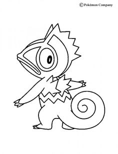 Kecleon Pokemon coloring page. This Kecleon Pokemon coloring page is very popular among the Hellokids fans. New coloring pages added all the time to . Cool Coloring Pages, Printable Coloring Pages, Coloring Pages For Kids, Coloring Stuff, Pokemon Advanced, Pokemon Coloring Sheets, Lion King Movie, Pokemon Party, Art Pages