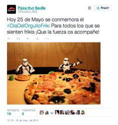 Día del Orgullo Friki 2015 - Pizza Hut #dayketing