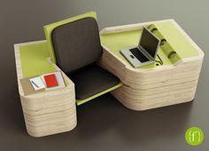 {f²} - a multifunctional furniture - Flaminia Zannotti