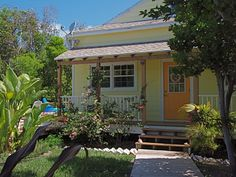 Cozy Island House with PoolVacation Rental in Elbow Cay and Hope Town from Bahamas House, Corner House, Yellow Houses, Paradise Found, Cozy Corner, Find Property, Pool Houses, Ideal Home, Real Estate