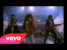 played during 1987 gigs   Bon Jovi performing Runaway. (C) 1984 The Island Def Jam Music Group
