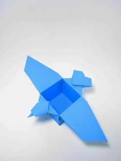 Origami bird box