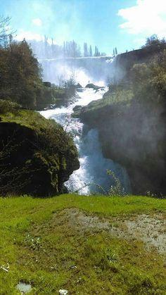 Salto del Laja, region del Bio Bio.Chile