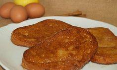Torrijas de leche con aroma de limón - Recetas caseras y sencillas