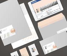 FindWay studio brand design on Behance
