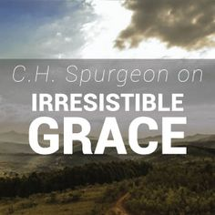 Spurgeon taught that everyone who is called by God to come to faith in Jesus will do so. This doctrine is known as irresistible grace or effectual calling. Ch Spurgeon, Spurgeon Quotes, Charles Spurgeon, Bible Verses Quotes, Scriptures, Reformed Theology, Walk By Faith, Gods Grace, Bible Lessons