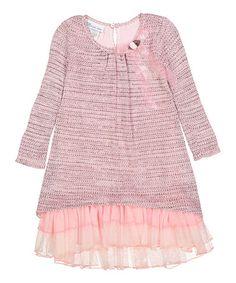 Pink Ruffle Hi-Low Dress - on #zulily! #zulilyfinds