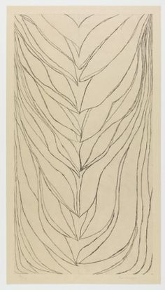 The Smell of Eucalyptus (#2), 2006, by Louise Bourgeois