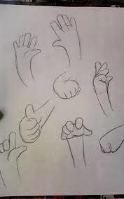 Resultado de imagen para dibujos manos chibis
