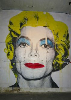 Mr. Brainwash (aka Thierry Guetta), Street Art, Michael Jackson - Marilyn