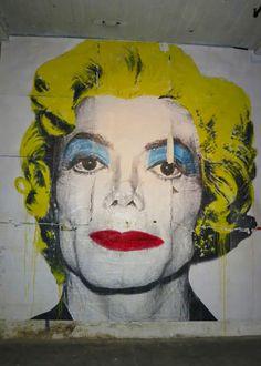 Mr. Brainwash (aka Thierry Guetta), Street Art, Michael Jackson - Marilyn