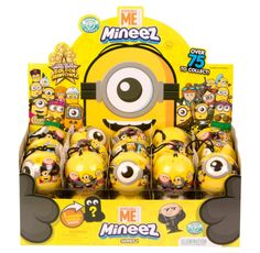 Despicable Me Minion Made Mineez Mystery Blind Pack Full Case of Sealed Balls by Moose Toys - (Retail Display Box Included) Minion Toy, Minions Despicable Me, Disney Frozen Bedroom, Spa Sleepover Party, Minion Banana, Minion Pumpkin, Baby Disney Characters, Rainbow Lollipops, Happy Birthday Minions