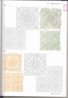Gallery.ru / Фото #3 - Crochet patterns book motifs edgings - accessories