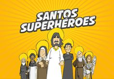 "Check out this @Behance project: ""Infografía Santos Superhéroes""…"