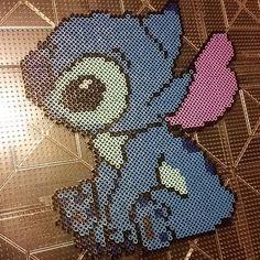 Stitch Disney perler beads by shonoey18
