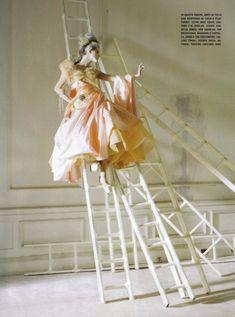 Lady Grey: Stella Tennant by Tim Walker in Vogue Italia March 2010