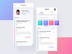 library - app designed by Aga Ciurysek for Connect with them on Dribbble; the global community for designers and creative professionals. Web Design, App Ui Design, User Interface Design, Interface App, Android Design, Mobile App Design, Mobile App Ui, Library App, Library Website