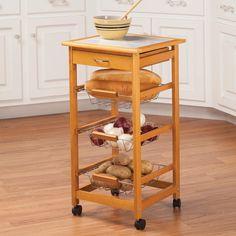 build kitchen cart with plans from kreg tool diy project kit rh pinterest com
