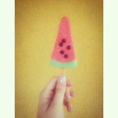 Watermelon icecream