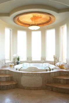 I'm all about an oversized jacuzzi - there's gotta be room for two ;)