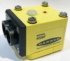 Banner Eng 25576 RSBF Maxi-Beam Glass Fiber Optic Sensor Head Module, Infrared #BannerEngineering