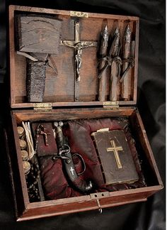 """The Seven Rules of Vampire Hunting.from a """"Real"""" Vampire Hunter Dracula, Vampire Hunter, Magic Box, Objet D'art, Interesting History, Just In Case, Magick, 19th Century, Hunting"""