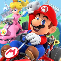 ■ Mario Kart takes a world tour! Mario and friends go global in this new Mario Kart as they race around courses inspired by real-world cities in addition to Ipad Mini 3, Ipad Air 2, Nintendo, Ipod Touch, Super Mario, Iphone 8 Plus, Mario Kart Characters, Spiderman, Test Card
