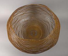Ocean by Morigami Jin (Japanese, born 1955) - 2009  Medium: Bamboo (madake) and rattan