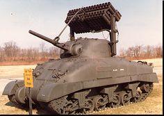 M4 Sherman Calliope Rockets launcher