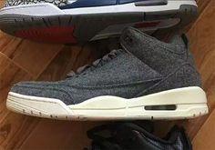 3041e9f3c02403  sneakers  news Jordan Brand Adds Wool To The Air Jordan 3 Jordan 2016