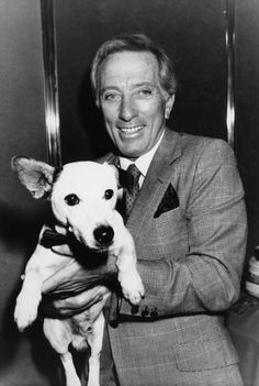 Andy Williams with Nipper - unknown date and location. | Flickr ...