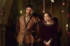 Reign Season 2 Episode 13 Photos Sins of the Past As the castle prepares for the Winter's Ease Feast, King Antoine of Navarre reveals to Francis and Mary