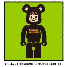 BE@RBRICK SERIES 24 × tarout - brickout BRICKUN 5