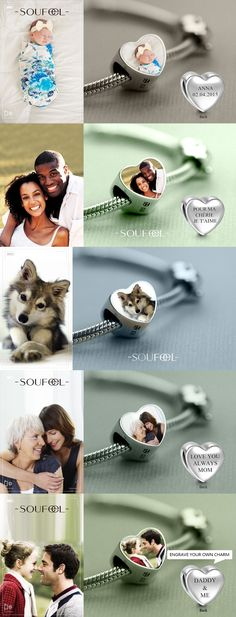 Personalize every moment with Soufeel's customized and personalized charms.