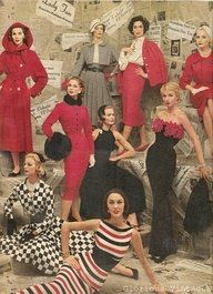 Photo shoot, 1956