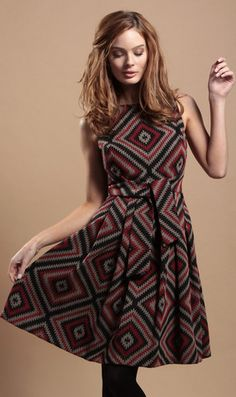 Another cute Eva Franco dress with a fabulous print!