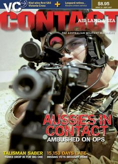 CONTACT Air Land & Sea issue #15, September 2007.