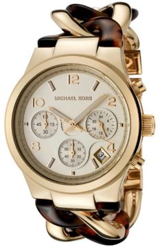this is a perfect Fall watch by Michael Kors