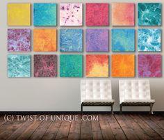 Colorful Watercolor painting/ Custom 18 set of paintings /