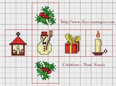 Fuseau et Dé pour Sapin  ou autre déco de Noël