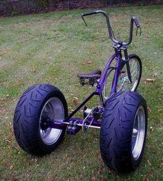3 Wheel Bicycle Conversion Axle Make Any Bike A Trike In 10 Velo Design, Bicycle Design, Trike Bicycle, Motorcycle Bike, Fat Bike, Mini Bike, Cool Bicycles, Cool Bikes, Custom Trikes
