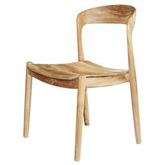 Ingrid Side Chair in Teak by Selamat Designs