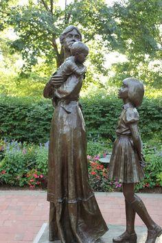 In her mother's footsteps ~ Nauvoo