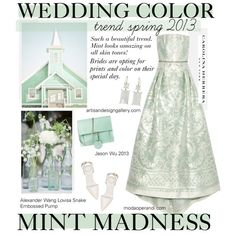 Wedding Dress: Would you Try a Non-Traditional Color?  Do you DARE?