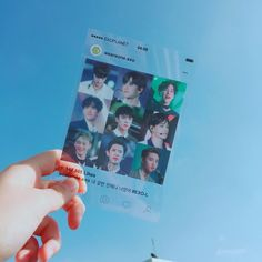 I always see these types of cards and they're so cute 🌸 . Exo Chen, Exo Kai, Exo Merch, Kpop Diy, Kpop Backgrounds, Exo Lockscreen, Exo Members, Park Chanyeol, Blue Aesthetic