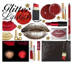 """""""contest: so sparkly, glitter lips - 20161104"""" by catharine-polyvore ❤ liked on Polyvore featuring beauty, Betsey Johnson, Lulu Guinness, Pat McGrath, Urban Decay, Yves Saint Laurent, Charlotte Olympia, Lime Crime, MAC Cosmetics and Christian Dior"""
