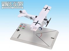 FRP GAMES - PRODUCT - Wings Of Glory WWI Miniatures: Fokker D.VII (Goering)