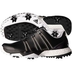 New Adidas Powerband Boa Boost Mens Golf Shoes Black Pick Size